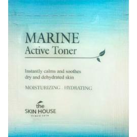 ПРОБНИК Интенсивно увлажняющий тонер для лица The Skin House Marine Active Toner 1 мл