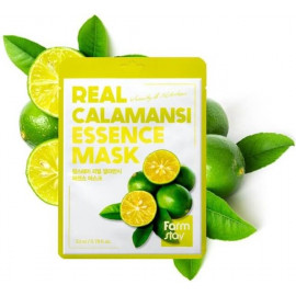 Тканевая маска для лица Farm Stay КАЛАМАНСИ Real Essence Mask CALAMANSI 23 мл