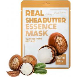 Тканевая маска для лица Farm Stay МАСЛО ШИ Real Essence Mask SHEA BUTTER 23 мл