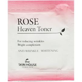 ПРОБНИК Антивозрастной тонер для лица The Skin House Rose Heaven Toner с экстрактом розы 1 мл