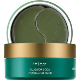 Патчи Trimay с маслом крокодила Alligator&CICA Hydrogel Eye Patch 60 шт