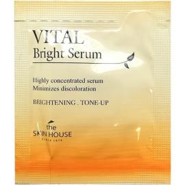 ПРОБНИК Сыворотка The Skin House Vital Bringht Serum (Ampoule) для сияния кожи  купить