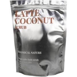 Скраб для тела Skinomical КОФЕЙНЫЙ/ЛАТТЕ и КОКОС Nature Latte Coconut Scrub 250 гр