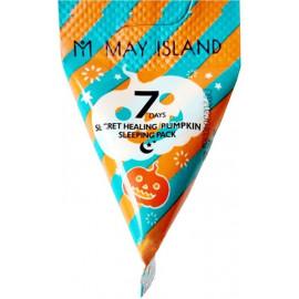 Ночная маска May Island с экстрактом тыквы 7 Days Secret Healing Pumpkin Sleeping Pack 5 гр