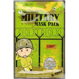 Маска тканевая для лица Mijin мужская MJ Military mask 25 гр