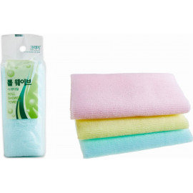 Мочалка для душа SUNG BO CLEAMY ROLL WAVE SHOWER TOWEL 28х95 см