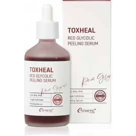 Пилинг-сыворотка Esthetic House ГЛИКОЛЕВАЯ Toxheal Red Glyucolic Peeling Serum 100 мл