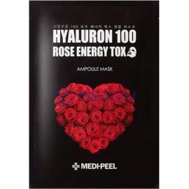 Тканевая маска Medi-Peel детокс с экстрактом розы Hyaluron 100 Rose Energy Tox