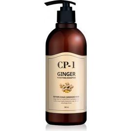 Шампунь для волос Esthetic House ИМБИРНЫЙ CP-1 GINGER PURIFYING SHAMPOO 500 мл