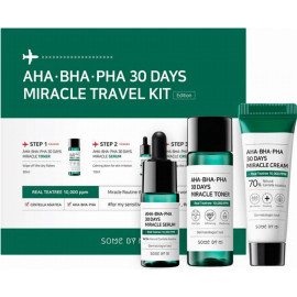 Набор средств Some By Mi AHA.BHA.PHA 30 Days Miracle тонер,сыв-ка,крем