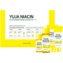 Набор средств Some By Mi Yuja Niacin 30 Days Brightening Тонер,сыв-ка,крем, ночная маска