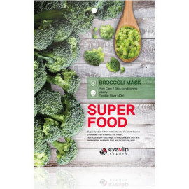 Тканевая маска Eyenlip SUPER FOOD BROCCOLI MASK 23 мл