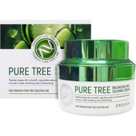 Крем для лица Enough с экстрактом чайного дерева  Pure Tree Balancing Pro Calming Cream 50 мл