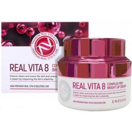 Крем питательный Enough Real Vita 8 Complex Pro Bright up Cream 50 мл