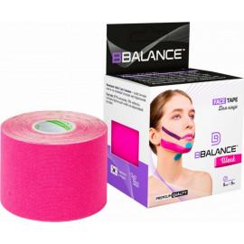 Кинезио тейп BBTape FACE TAPE ШЕЛК Silk 5см*5м розовый p