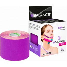 Кинезио тейп BBTape FACE TAPE ШЕЛК Silk 5см*5м фиолетовый f в Беларуси