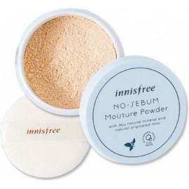 Увлажняющая рассыпчатая матирующая пудра Innisfree No sebum moisture powder 5 гр