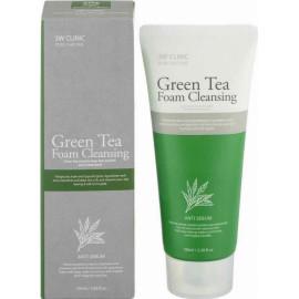 Пенка для умывания 3W CLINIC ЗЕЛЕНЫЙ ЧАЙ Green Tea Foam Cleansing 100 мл c бесплатной доставкой
