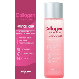 Тонер Trimay Collagen & Rose Water Nutrition Toner 200 мл