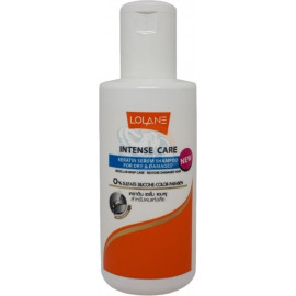 Шампунь Lolane с кератином для окрашенных волос без дозатора INTENSE CARE KERATIN SERUM SHAMPOO FOR COLOR CARE 100 мл