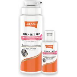 Шампунь Lolane с кератином для объема волос INTENSE CARE KERATIN SERUM SHAMPOO FOR VOLUMIZING 400 мл