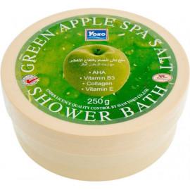 Спа-соль Yoko с зеленым яблоком Green apple spa-sal 250 гр