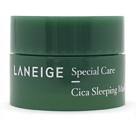 Ночная маска Laneige с экстрактом центеллы Cica Sleeping Mask mini 10 мл