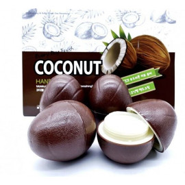 Крем для рук 3w Clinic с кокосом COCONUT Hand CREAM 30 гр 1 шт