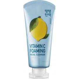 Пенка для умывания Welcos тонизирующая IOU Vitamin C Foaming Facial Cleanser 120 мл c бесплатной доставкой