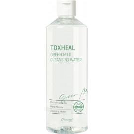 Жидкость Esthetic House для снятия макияжа TOXHEAL Green Mild Cleansing Water 530 мл
