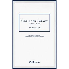 Тканевая маска для лица Wellderma УВЛАЖНЕНИЕ Collagen Impact Essential Mask Sapphire 25 мл
