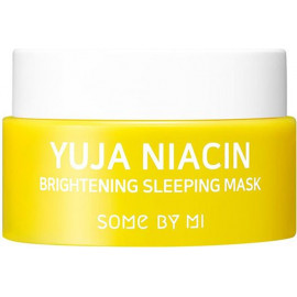 Ночная осветляющая маска Some By Mi Yuja Niacin Brightening Sleeping Mask 15 гр