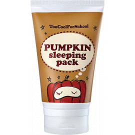 Ночная маска Too Cool For School с экстрактом тыквы Pumpkin Sleeping Pack 100 мл
