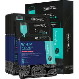 Тканевая маска + сыворотка Mediheal W.H.P Black Mask Ampoulex 25мл+3мл