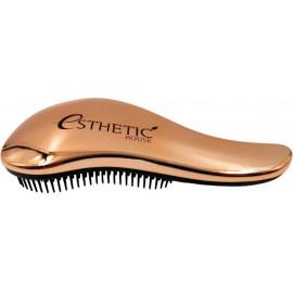 Расческа для волос Esthetic House пластик Бронзовая 18*7см