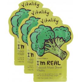 Тканевая маска Tony Moly с экстрактом брокколи I'm Broccoli Mask Sheet 21 мл