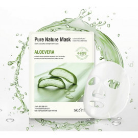 Маска для лица тканевая Anskin Secriss Pure Nature Mask Pack Aloevera 25мл