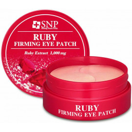 Патчи для глаз SNP с экстрактом пудры рубина RUBY NUTRITION EYE PATCH 60 шт