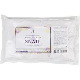 Маска альгинатная Anskin с муцином улитки Snail Modeling Mask (пакет) 240 гр s