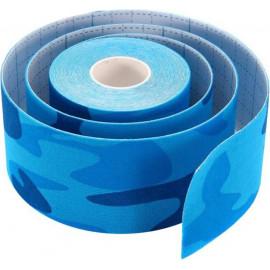Тейп для лица Ayoume  2,5см*5м камуфляж голубой  Kinesiology tape roll k