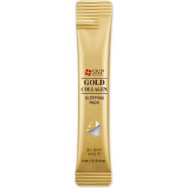Ночная маска SNP с коллагеном и золотом Gold Collagen Sleeping Pack 4 мл