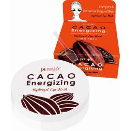 Гидрогелевые патчи для глаз Petitfee КАКАО Cacao Energizing Hydrogel Eye Mask 60 шт