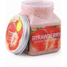 Скраб для тела Wokali Strawberry Sherbet Body Scrub с клубникой 350 мл