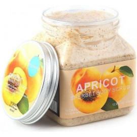 Скраб для тела Wokali Apricot Sherbet Body Scrub с абрикосом 500 мл