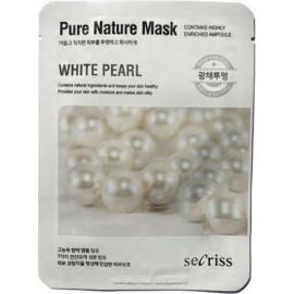 Тканевая маска Anskin Secriss Pure Nature Mask Pack White pearl 25 мл в рассрочку по Халве