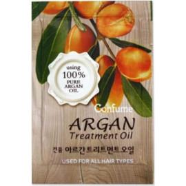 ПРОБНИК Масло аргановое Welcos для волос Confume Argan Treatment Oil Pouch