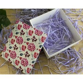 Коробка подарочная 22 см * 25 см гортензия в интернет магазине