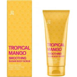 Скраб для тела J:ON МАНГО Tropical Mango Smoothing Sugar Body Scrub 250 гр