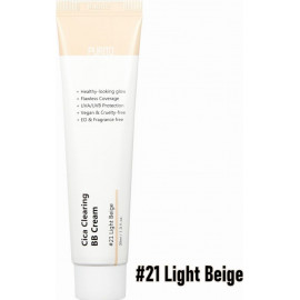 ББ крем Purito c центеллой Сica Clearing BB cream 21 light beige 30 мл