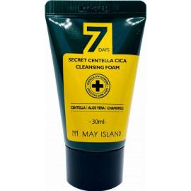 Очищающая пенка May Island для проблемной кожи с экстрактом центеллы 7 Days Secret Centella Cica Cleansing Foam 30 мл